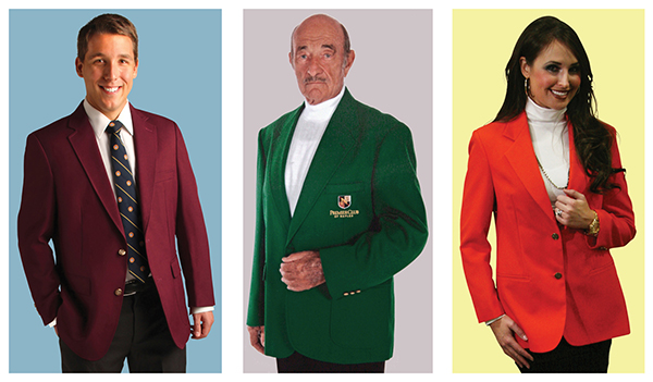 GOLF BLAZERS INCLUDING GREEN MASTERS AND TOURNAMENT BLAZER