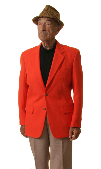 orange blazer for men