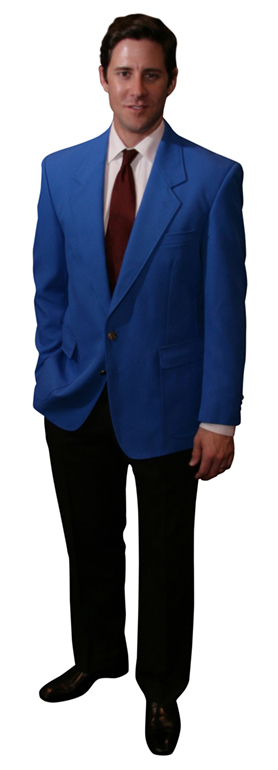 royal blue blazers for men