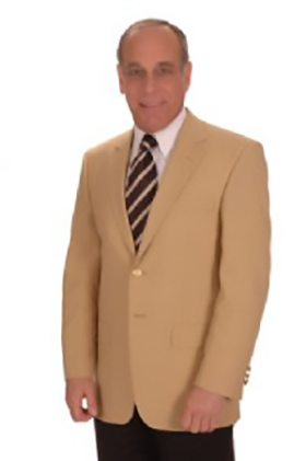 Men's Century 21 Gold Blazer Jacket