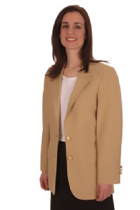 women's gold century 21 blazer jacket