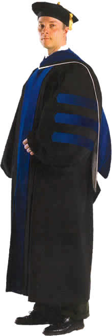 phd gown hood and tam