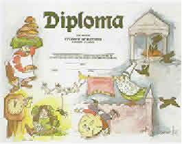 kindergarten and preschool diploma