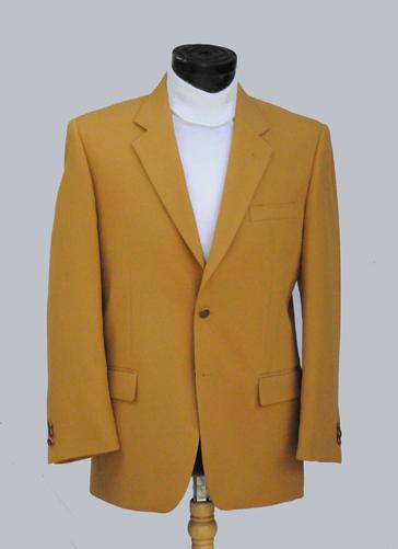 Gold Mens Blazer Jacket Hardon Clothes