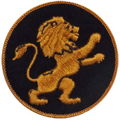 Logo Embroidered Emblem for Blazers and uniforms