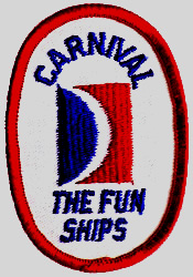 Carnival Cruise Ships uniforms Emblems