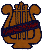 island brass reef band logo emblem