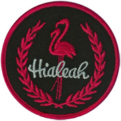 hialeah emblem patch