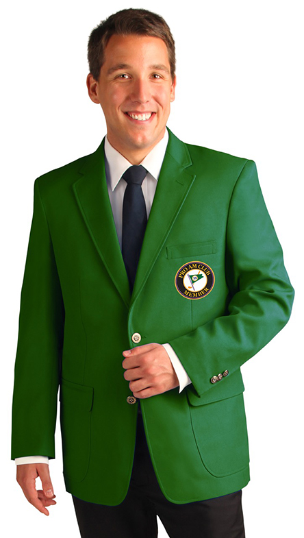 Verde clásico del estilo hombres slim fit Trajes vintage