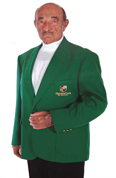 18-32 augusta green embroidered blazers