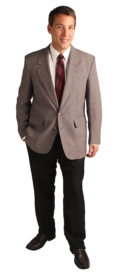 gray blazers for women and men