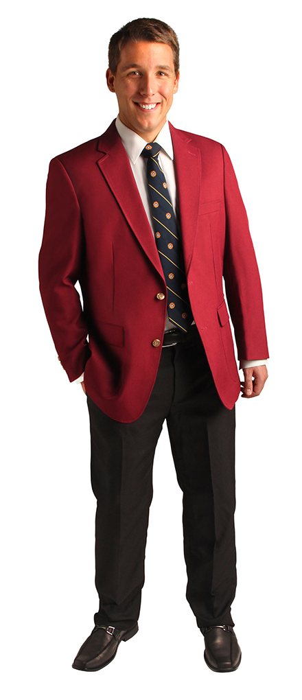 red blazers for men