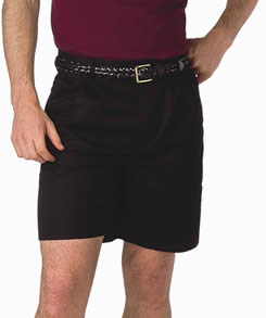 pleated shorts for men and women