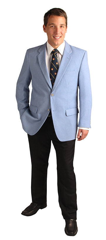 Men's powder blue blazers
