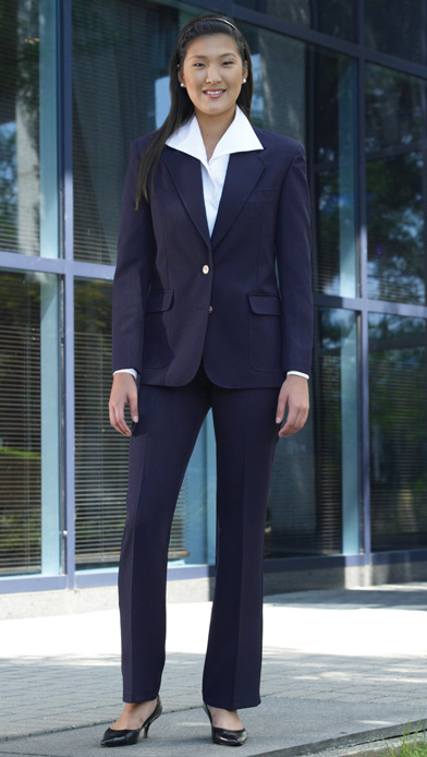 womens navy blazer