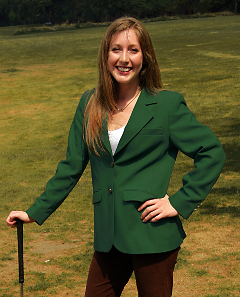 augusta green blazers for women